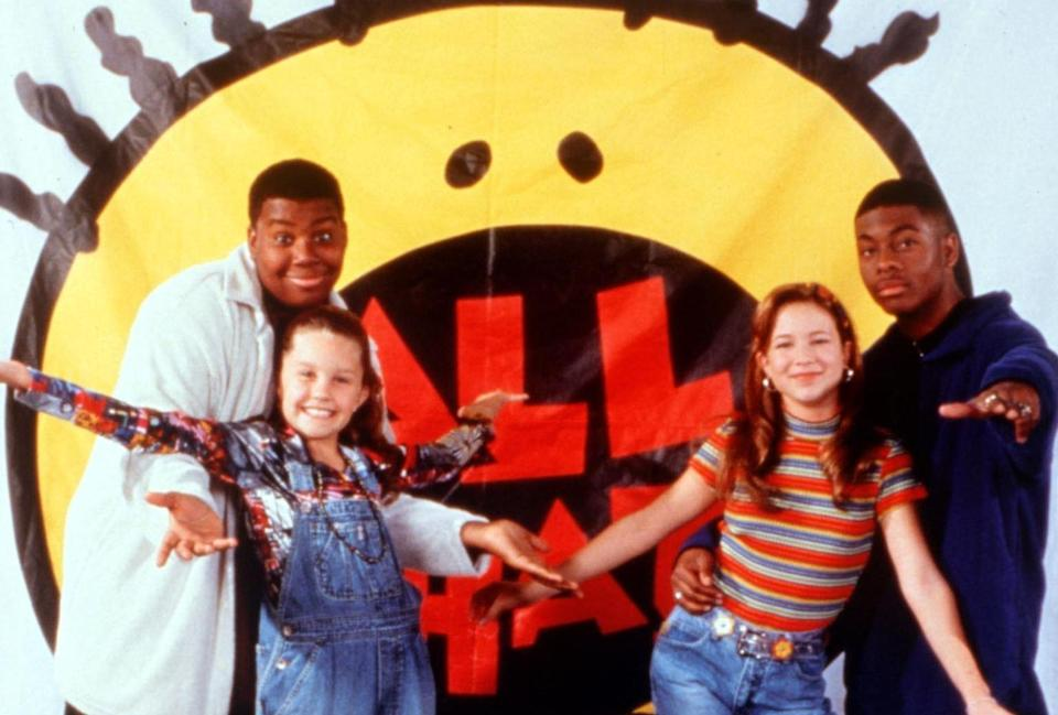 """The cast of """"All That"""""""