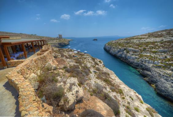 Ta' Cenc is situated in an enviable clifftop location (Ta' Cenc)