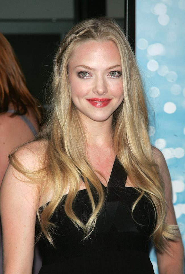 Amanda Seyfried at the New York premiere of Universal Pictures' Mamma Mia! - 07/16/08