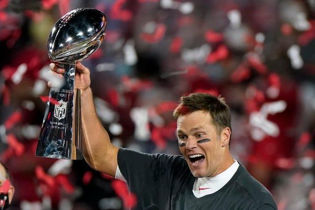 Tom Brady won his seventh Super Bowl title as the Tampa Bay Buccaneers saw off the Kansas City Chiefs 31-9