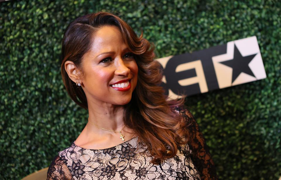 <p>Stacey Dash backs the 'Women for Trump' campaign</p>Getty Images