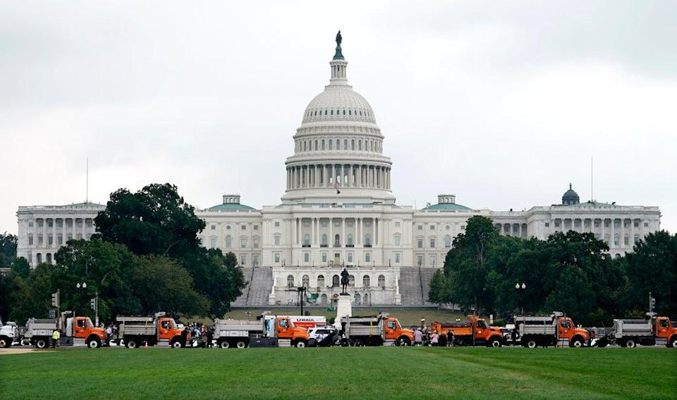 Capital Breach Rally (Copyright 2021 The Associated Press. All rights reserved.)
