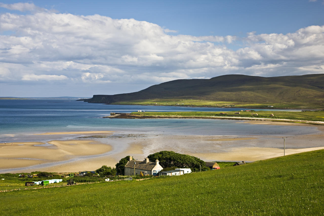 <p>The Orkney Islands kept the top spot after scoring well on employment levels, average spend per pupil on education, low anxiety levels, low crime rates, low primary class sizes and consistently high scores in life satisfaction and happiness. [Picture: Getty] </p>