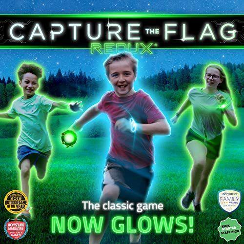 """<p><strong>Capture the Flag REDUX</strong></p><p>amazon.com</p><p><strong>$49.90</strong></p><p><a href=""""https://www.amazon.com/dp/B00XK9C4H0?tag=syn-yahoo-20&ascsubtag=%5Bartid%7C10050.g.23838030%5Bsrc%7Cyahoo-us"""" rel=""""nofollow noopener"""" target=""""_blank"""" data-ylk=""""slk:Shop Now"""" class=""""link rapid-noclick-resp"""">Shop Now</a></p><p>It's the game you knew and loved as a kid—only now, it glows. It's the perfect game to play outdoors at night!</p>"""