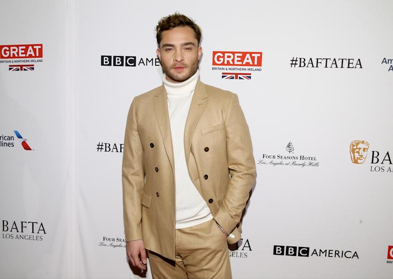 Ed Westwick appears at a 2016 BAFTA event in Los Angeles. (Danny Moloshok / Reuters)