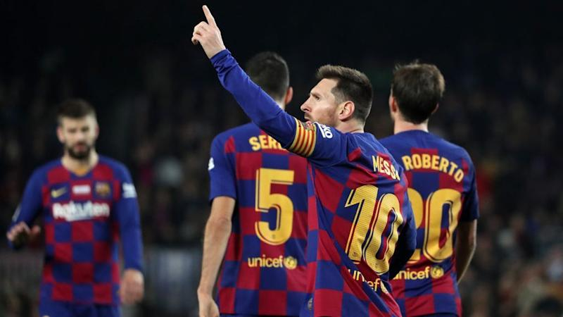 La Liga Roundup Barcelona Real Madrid Remain Level On