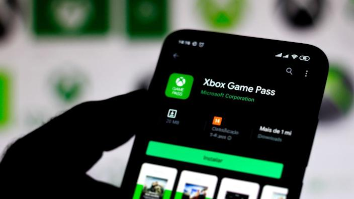 The Xbox Game Pass app
