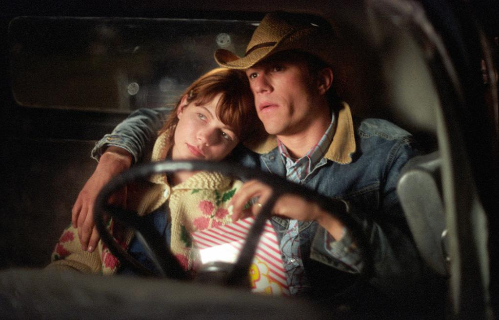 """<a href=""""http://movies.yahoo.com/movie/contributor/1800018861"""">MICHELLE WILLIAMS</a> & <a href=""""http://movies.yahoo.com/movie/contributor/1800018553"""">HEATH LEDGER</a>  MOVIE: <a href=""""http://movies.yahoo.com/movie/1808403312/info"""">Brokeback Mountain</a> (2004)   Heath Ledger and Michelle Williams began dating while shooting """"Brokeback Mountain"""" in 2004, and they both received Oscar nominations for their work. Their daughter, Matilda, was born in October of 2005. The couple split in 2007, several months before his untimely death in January, 2008. When she turns 18, Matilda will receive the Academy Award her father won for """"The Dark Knight."""""""