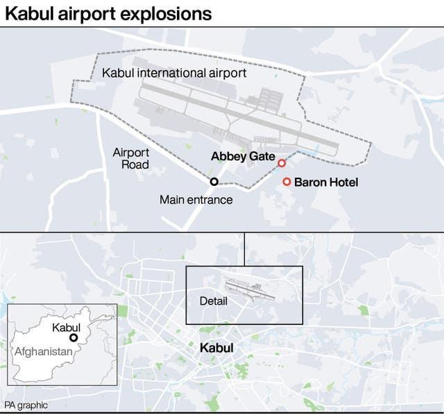 Kabul airport explosions