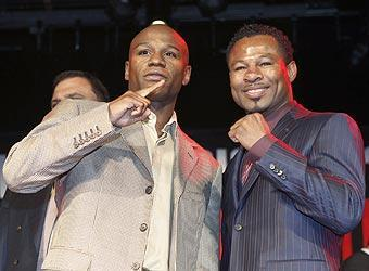 The Floyd Mayweather Jr.-Shane Mosley welterweight fight is the biggest fight than can be made after Mayweather-Pacquiao