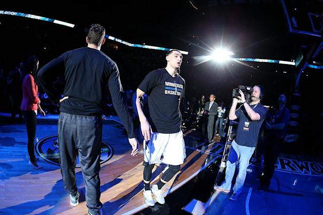 Zach LaVine could be ready to step into a bigger role in Minnesota this year. (Getty Images)