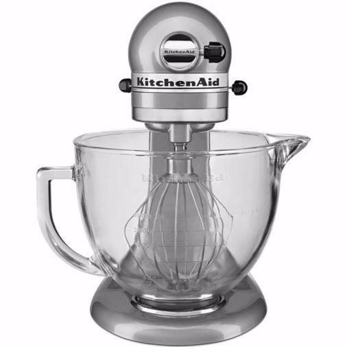 "Regularly: $300<br /><a href=""https://www.jcpenney.com/p/kitchenaid-5-quart-tilt-head-stand-mixer-with-glass-bowl-and-flex-edge-beater-ksm105gbc/ppr5007190529?pTmplType=regular&catId=SearchResults&searchTerm=KitchenAids+4.5-quart+stand+mixer"" target=""_blank""><strong>Black Friday: $199.99</strong></a><strong> (after $30 mail-in rebate)</strong><br />(Savings: $100)"