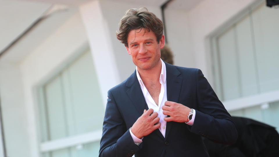 James Norton says he remains flattered by speculation about him becoming James Bond. (Elisabetta Villa/Getty Images)