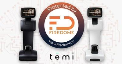 Firedome protects and secures Temi robots while driving a new standard in proactive cybersecurity for IoT devices
