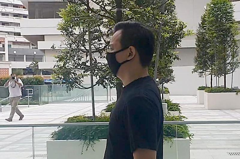Singaporean Foo Ching Guan, 32, was charged under the Infectious Diseases (COVID-19 – Stay Orders) Regulations 2020. (PHOTO: Wan Ting Koh / Yahoo News Singapore)