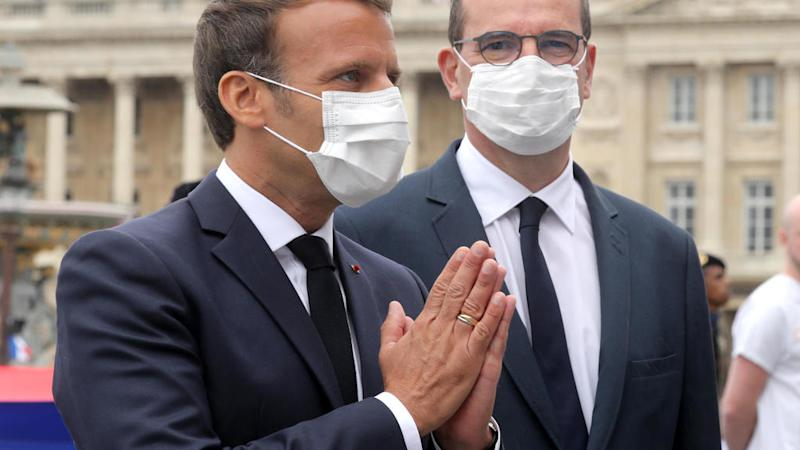 Mask-wearing compulsory indoors in public from next week, French PM Castex says