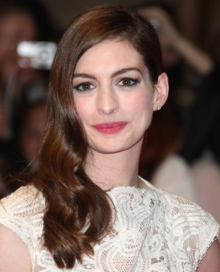 Celebrity hair: Anne Hathaway is clearly a lady with expensive tastes, well her hair is! She happily hands over £600 every time she visits her hairdresser, Ted Gibson. Times that by a trip to the salon every six weeks and the total amount is staggering.