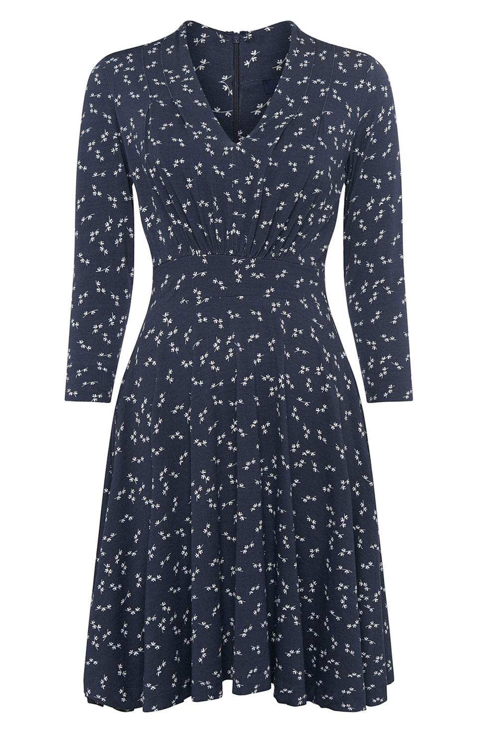 <p>This pretty <span>French Connection Ditsy Litzy Meadow Jersey Dress</span> ($83, originally $138) is a brunch-ready look.</p>