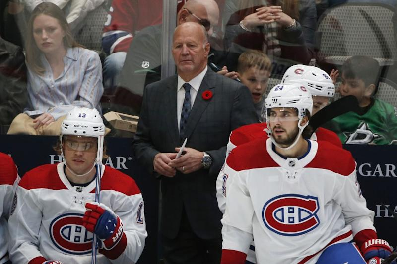 Canadiens head coach Claude Julien hospitalized with chest pain