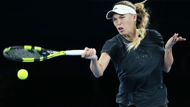<p>Wozniacki feeling no extra pressure ahead of Australian Open</p>