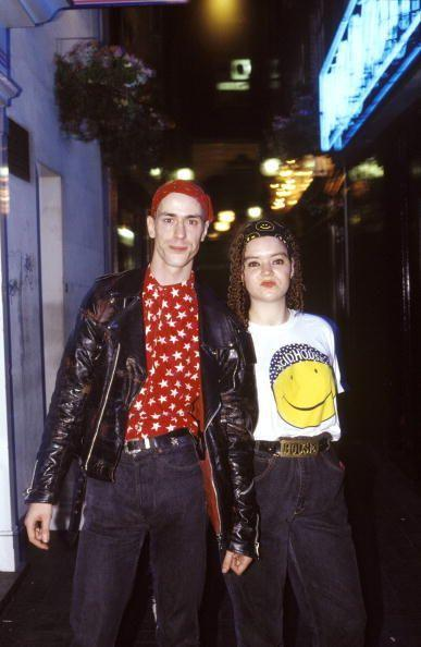 <p>A never-before-seen pic of your aunt and uncle heading into a Journey concert. So <em>that's</em> why that leather jacket looks so familiar! </p>