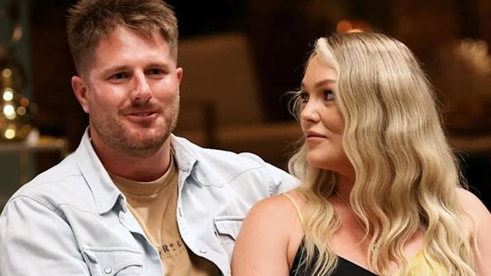Married At First Sight couple Bryce Ruthven and Melissa Rawson