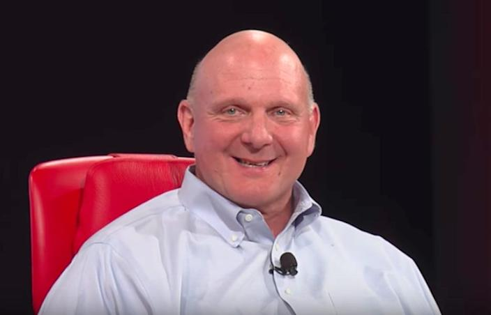 Former Microsoft CEO Steve Ballmer led the purchase of aQuantive in 2007.