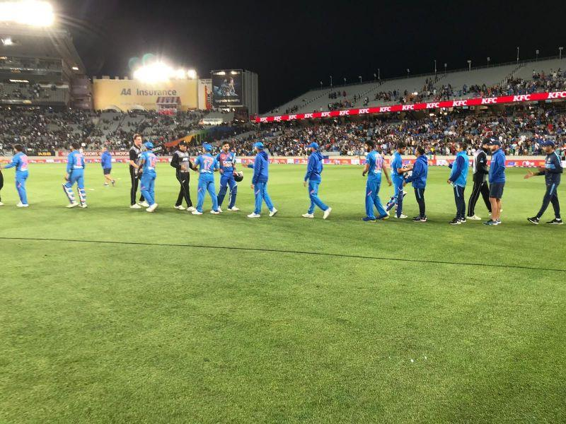 India defeated New Zealand comprehensively