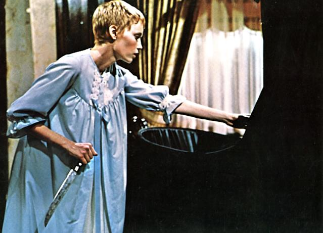 Mia Farrow in <i>Rosemary's Baby</i>. (Photo: Paramount Pictures, courtesy of the Everett Collection)