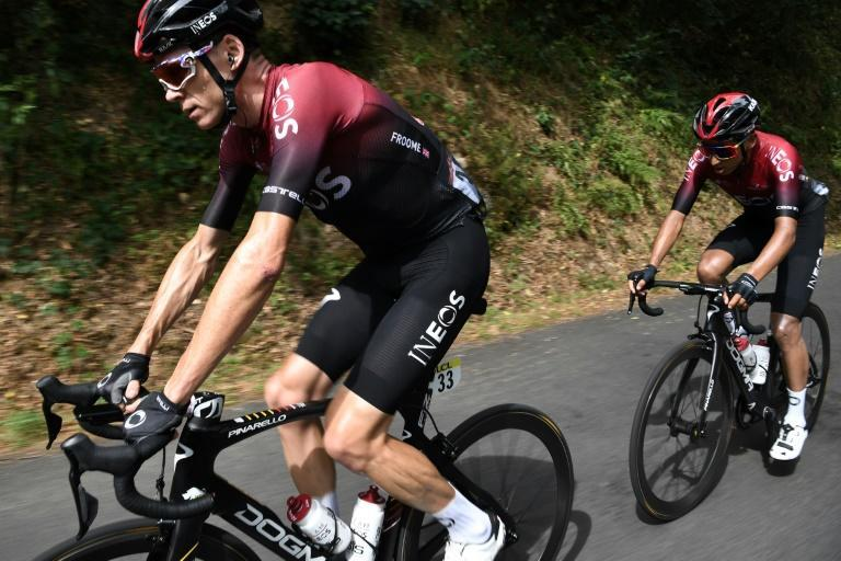 End of the affair: Chris Froome