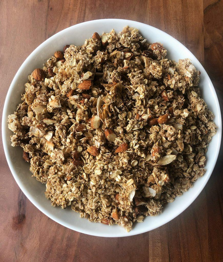 @FreckledFoodie's cinnamon almond granola. (Credit: Cameron Rogers)