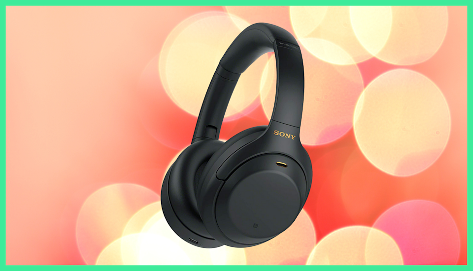 We like the sound of this! Sony's latest noise-canceling wireless headphones have hit their lowest price yet. (Photo: Amazon)
