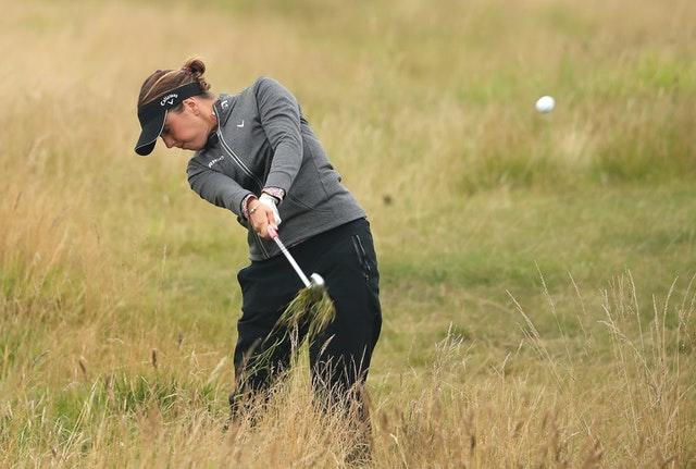 Holmqvist navigates blustery Troon to lead Womens British Open