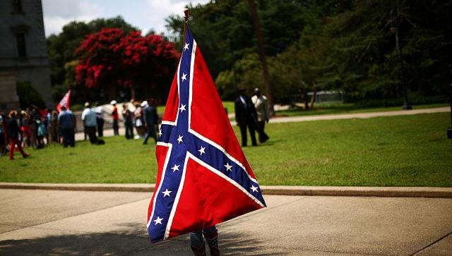 Donald Trump's defence of Confederate flag adds to playbook of stoking White fear, resentment