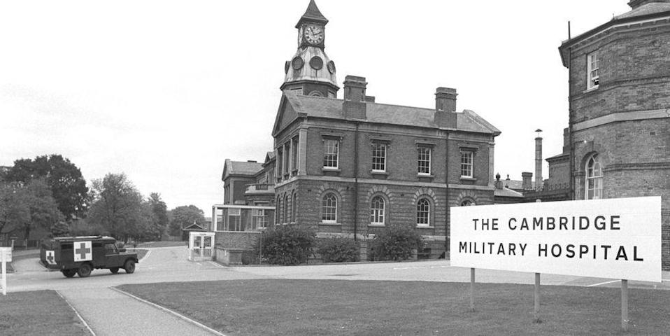 <p>The first base hospital, the Cambridge Military Hospital, opened in July 1879 in Hampshire, England, welcoming soldiers directly from the Western front during wartime. As the birthplace of plastic surgery, the hospital served multiple functions for a century, eventually closing in the 1990s due to the costs of operating an aging building, although recent reports have developers hoping to turn portions of the building into housing.</p>