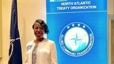 Dr. Tonya Amankwatia, AECT liaison to NATO-ACT and Assistant Vice Provost for Distance Education and Extended Learning at North Carolina Agricultural and Technical State University