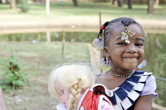 "<span class=""caption"">What it means when Black children prefer white dolls.</span> <span class=""attribution""><a class=""link rapid-noclick-resp"" href=""https://www.gettyimages.com/detail/photo/little-girl-playing-with-a-doll-royalty-free-image/539250605?adppopup=true"" rel=""nofollow noopener"" target=""_blank"" data-ylk=""slk:commerceandculturestock/Moment via Getty Images"">commerceandculturestock/Moment via Getty Images</a></span>"