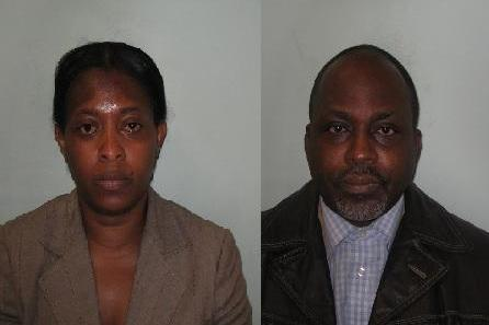 Jailed: Rose Nwenwu and Benjamin Egbujor: Met Police