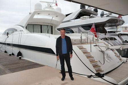 """Actor Dennis Quaid poses during a photocall for the television series """"Fortitude 2"""" during the annual MIPCOM television programme market in Cannes, France, October 17, 2016. REUTERS/Eric Gaillard"""