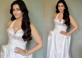 Aishwarya Rai Bachchan is a Roman beauty in this pristine white gown