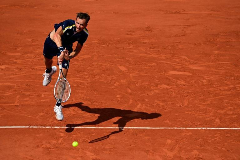Daniil Medvedev is looking increasingly at ease on clay after four first-round losses at the French Open