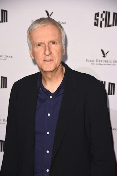 Director James Cameron says he made the shortest pitch ever for 'Titanic' -- 'Romeo and Juliet' on the doomed ship