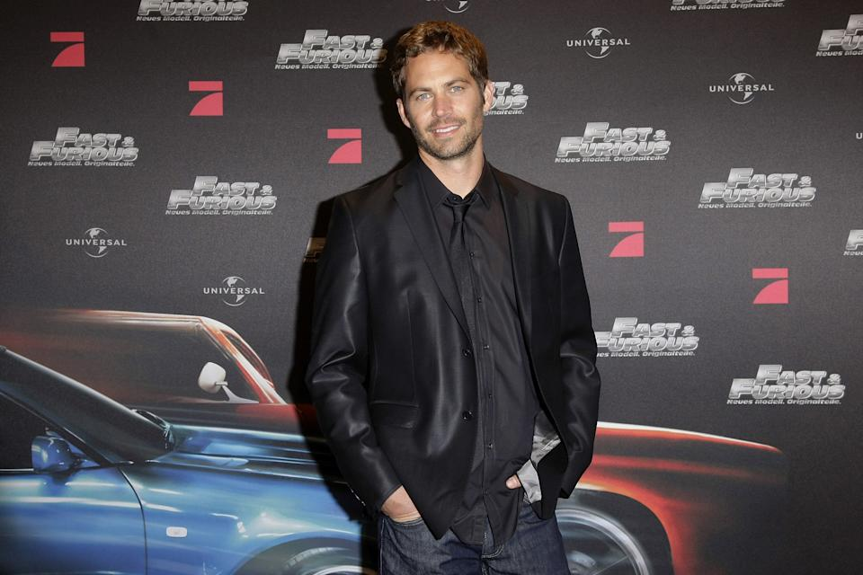 <em>Fast and the Furious</em> star Paul Walker died in a 2013 car crash. (Photo: Florian Seefried/WireImage)