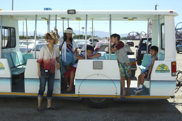 """<p><strong>""""Family Business Trip"""" (2015)</strong><br><br>The second season of the ABC comedy had the Huangs headed to Gator World, home of the Death Roll thrill ride. Jessica (Constance Wu) had a hard time unwinding as she battled Gator Carol over hidden hotel fees and spearheaded a travel-size toiletries heist to get her money's worth. But Jessica finally did let go — of her purse! — to succumb to a massage that was scored to a recording of underwater humpback whales singing or, possibly, a John Tesh song.<br><br>(Photo: Michael Ansell/ABC via Getty Images) </p>"""