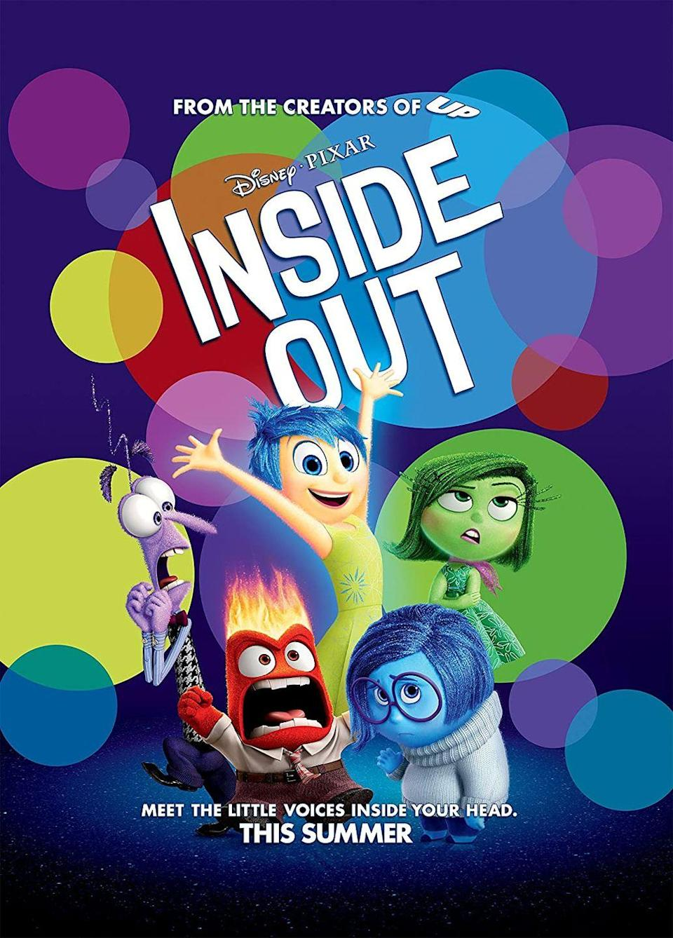 <p><strong>Why didn't Joy send the memories up in the tube? </strong></p><p><em>Inside Out</em> imagines how youth brains work through emotions in the form of marble-like memories colored by each feel. The plot of the movie follows Joy (Amy Poehler) and Sadness (Phyllis Smith) trying to bring 11-year-old Riley's core memories back to the command center. </p><p>The two see maintenance workers sending memories up the recall tube to be played in Riley's head, the place where they're trying to go. Joy has the idea of hitching a ride on the tube, but she is too heavy and it doesn't work. Our question: Why doesn't Joy just send the memories up the tube by themselves?</p>