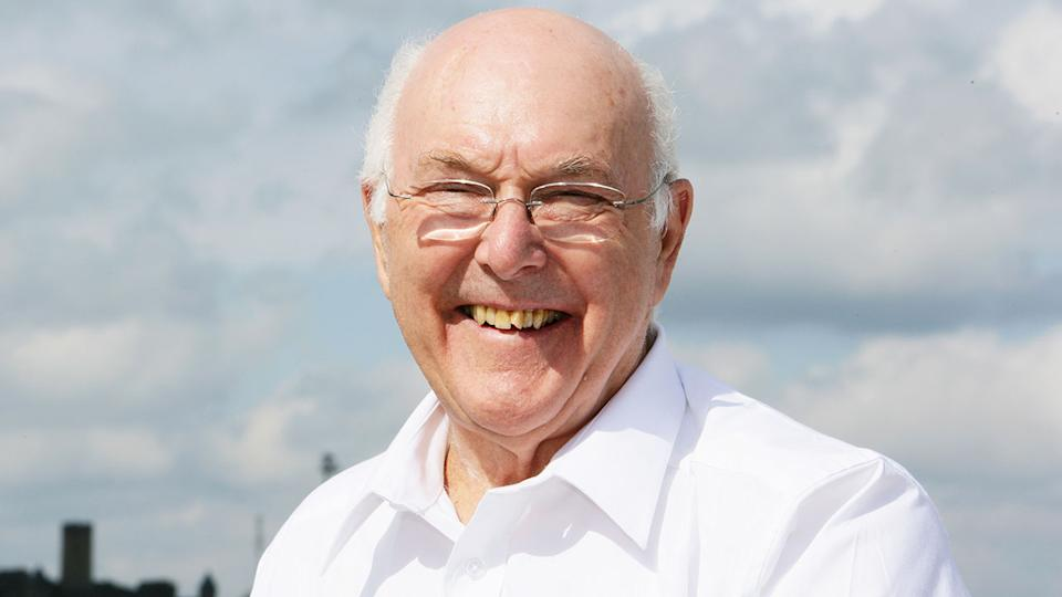 Seen here, iconic F1 commentator Murray Walker died at the age of 97.