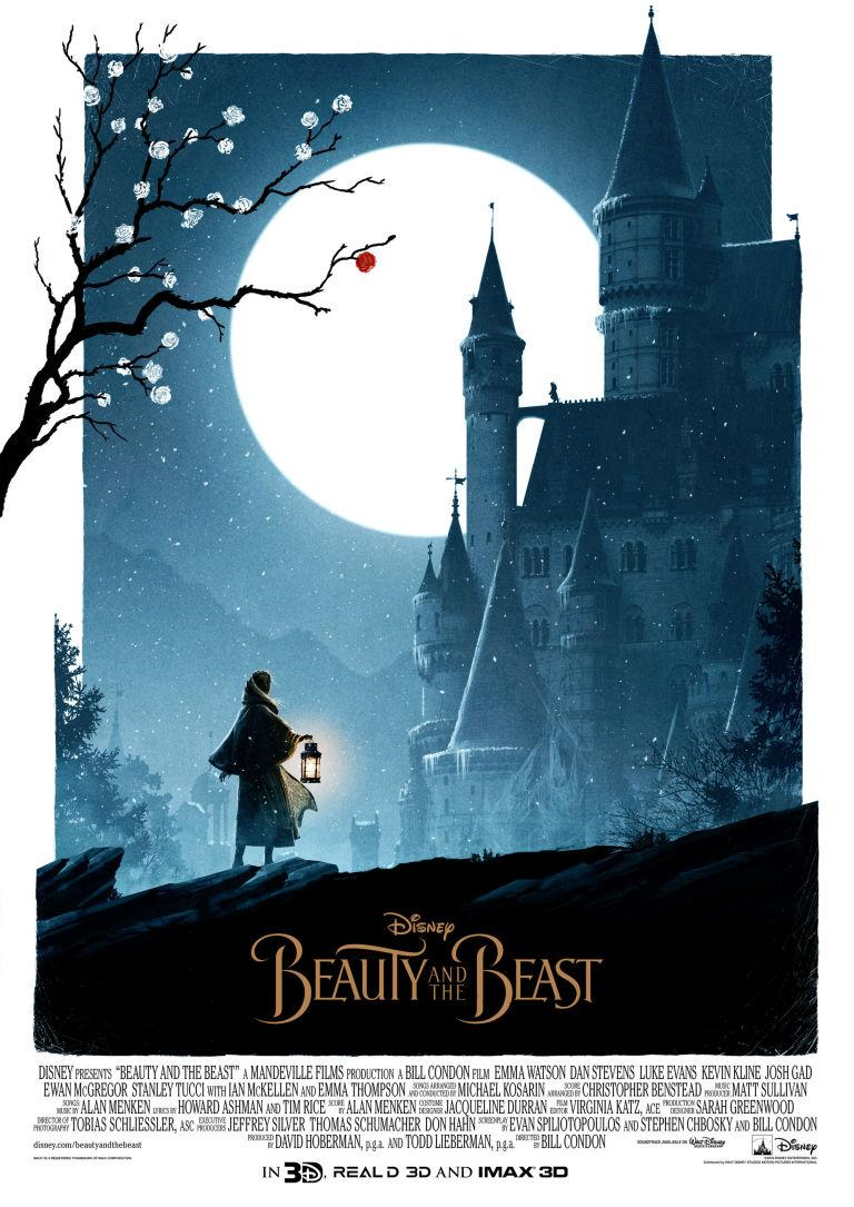 these alternate �beauty and the beast� posters are so