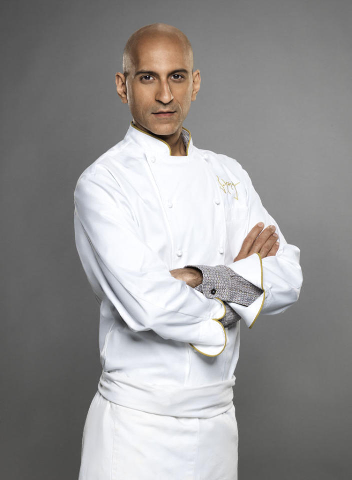 "Chef Jehangir Mehta is competing on the new season of ""The Next Iron Chef,"" premiering Sunday, 11/4 at 9 PM on Food Network."
