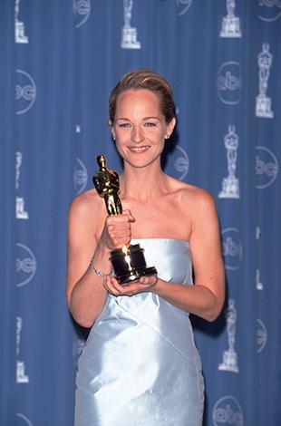"""<p>Helen Hunt, a Supporting Actress nominee this year, first won back in 1997 with As Good as It Gets, when she was with then-boyfriend Hank Azaria. She called him """"the very best man I know"""" in her acceptance speech, married him, and just six months later they were divorced.</p>"""
