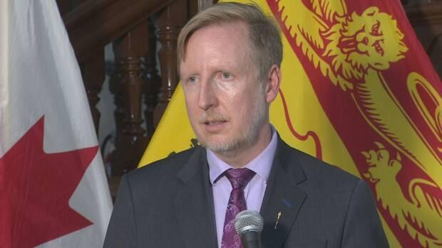 Education Minister Dominic Cardy (Ed Hunter/CBC - image credit)